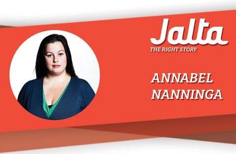 Voormalig adjunct-hoofdredacteur van Jalta, Annabel Nanninga.
