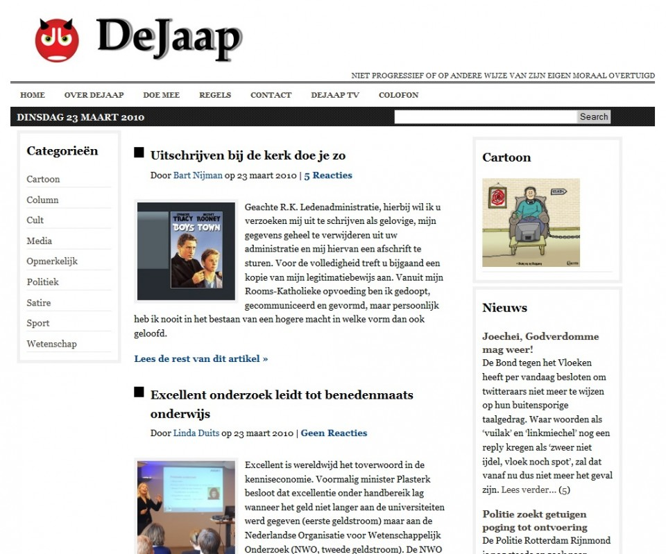 screencap DeJaap 23102010