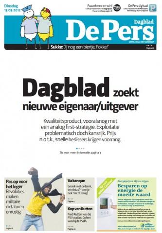 Opening van De Pers 13 maart 2012; bron screencap: nrc.nl