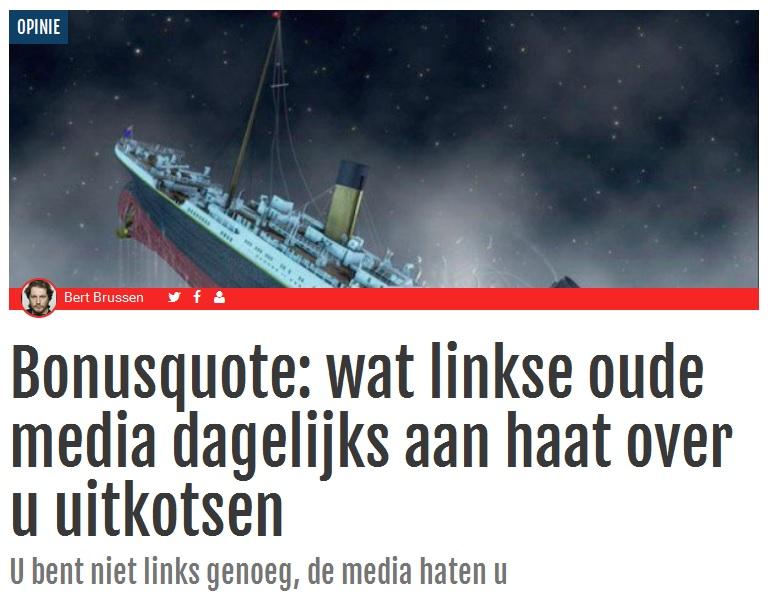 Artikel op TPO met oude schip der media