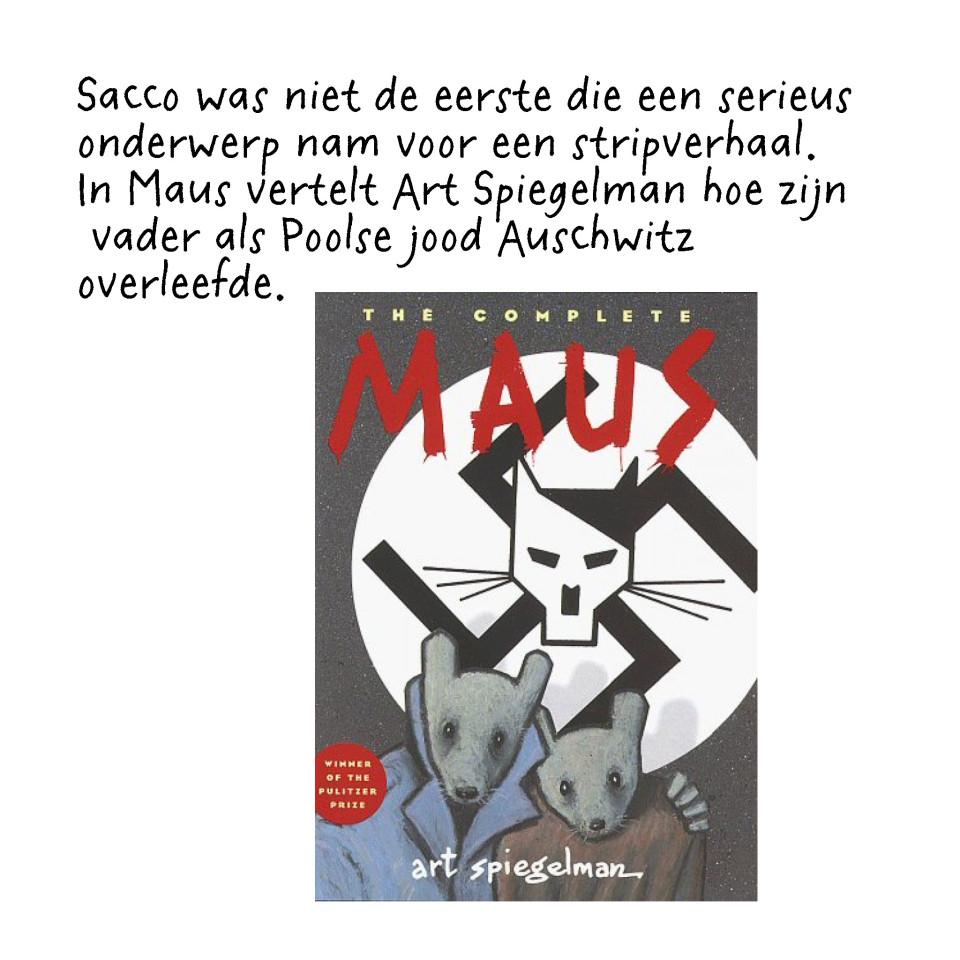 'Maus' is in het Nederlands uitgegeven door uitgeverij Oog & Blik.