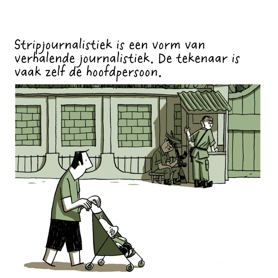 'Birma' van Guy Delisle. In het Nederlands uitgegeven door Oog & Blik.