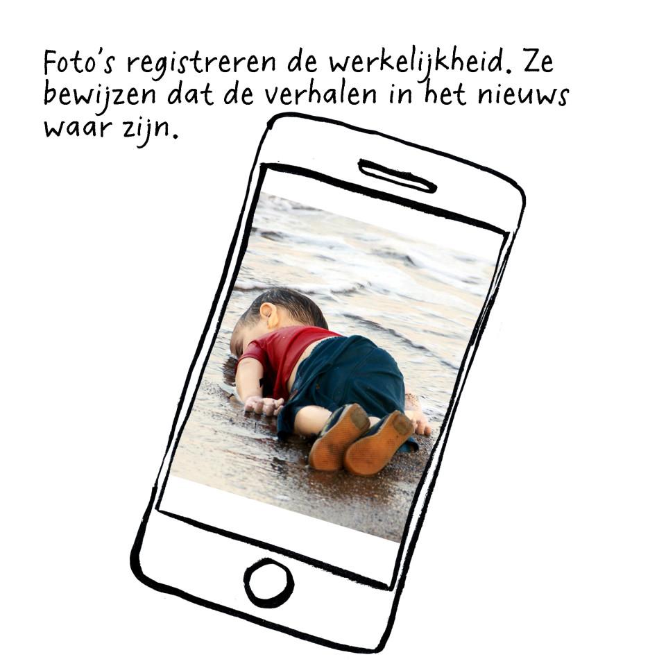 Foto van de verdronken peuter Aylan Kurdi is iconisch geworden voor de Syrische vluchtelingencrisis.