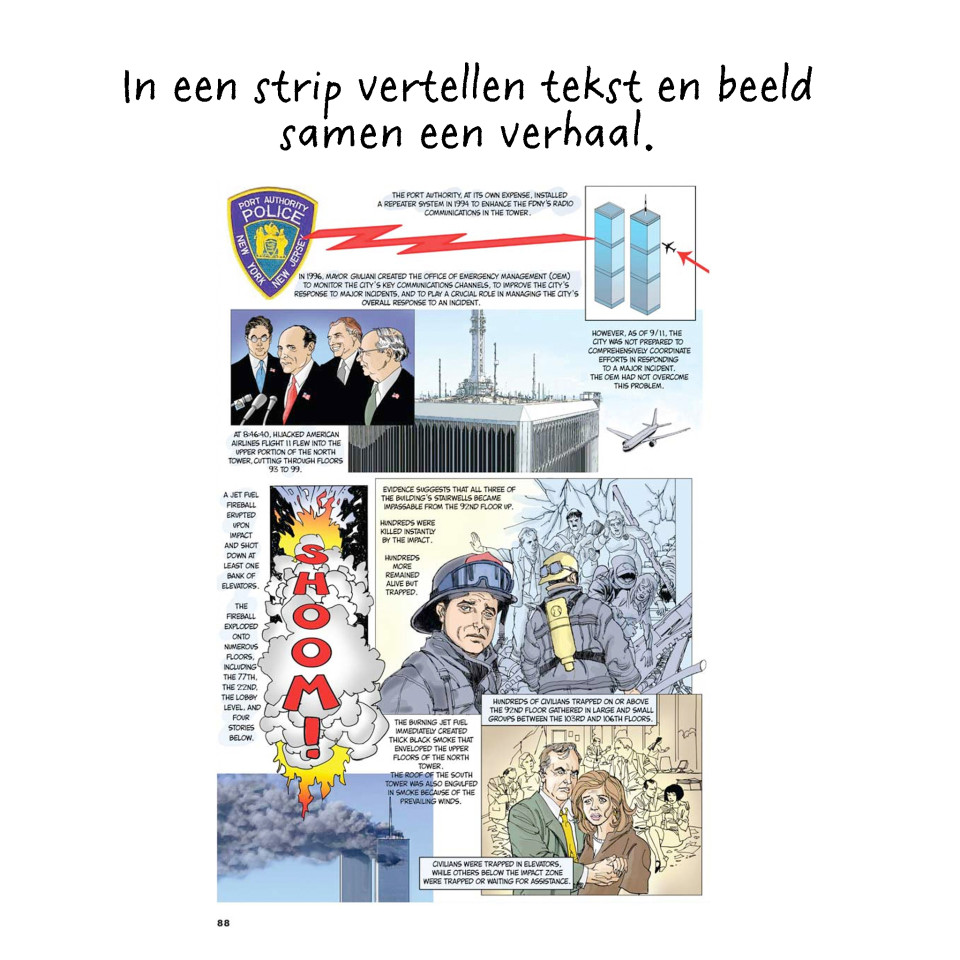 The 9/11 Report, a Graphic Adaptation door Sid Jacobsen en Ernie Colón.