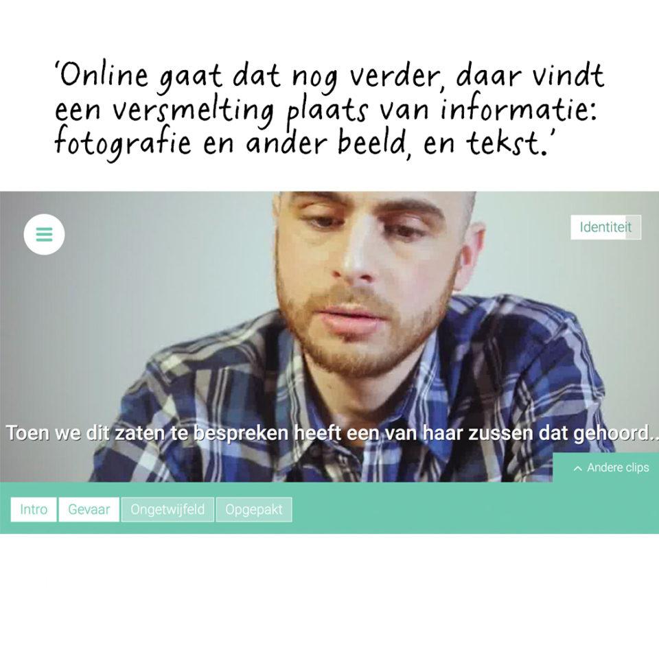 Multimediale productie van Trouw over immigratie. Zie trouw.nl/nadergehoor.