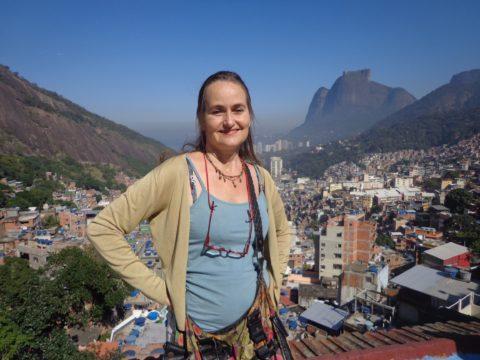 """De in Rio de Janeiro gevestigde journalist Wies Ubags: """""""
