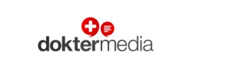 Het logo van Dokter Media.