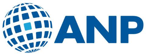 Het logo van persbureau ANP.