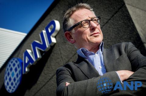 Marcel van Lingen van persbureau ANP. Foto: Koen van Weel (ANP)©.