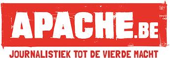Het logo met slogan van Apache.be.